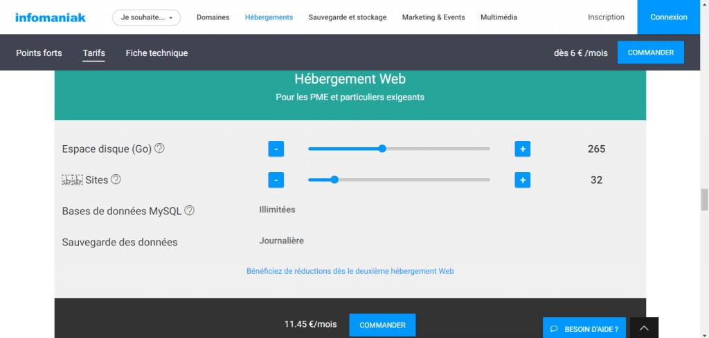 vps infomaniak serveur virtuel présentation