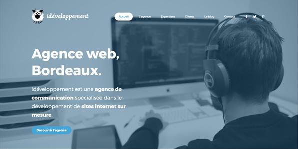 Ideveloppement  meilleures agences digitales à Bordeaux