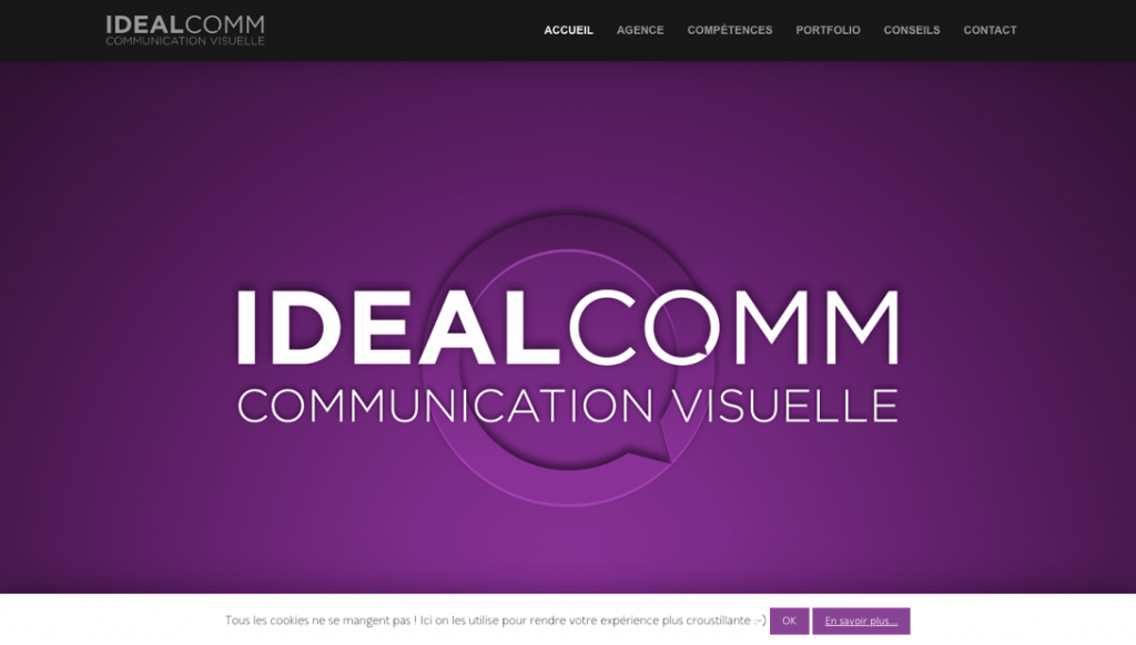 agence de communication visuelle IdealComm