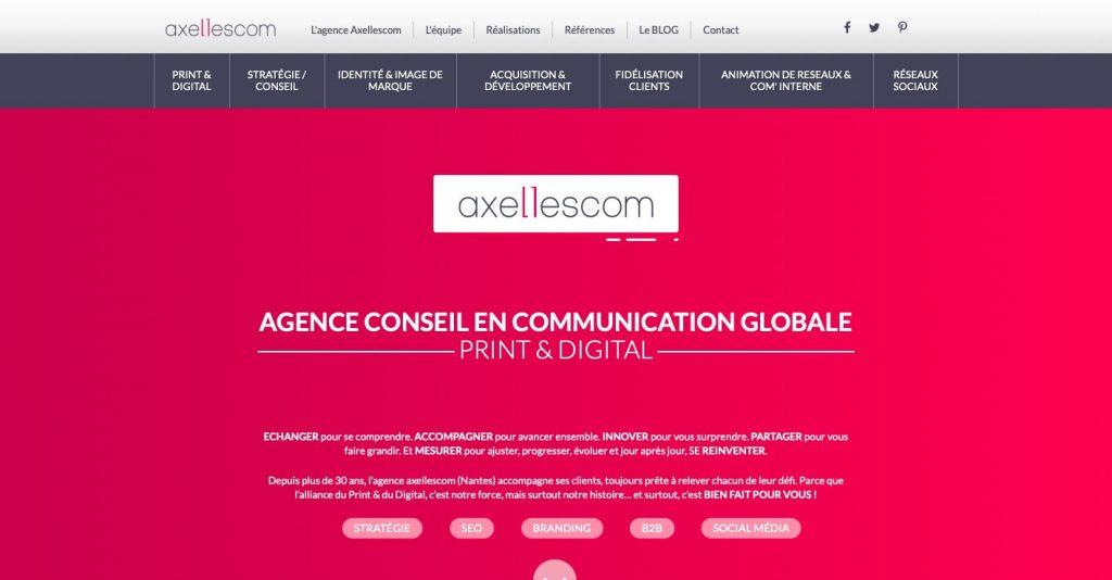 Axelles agence web