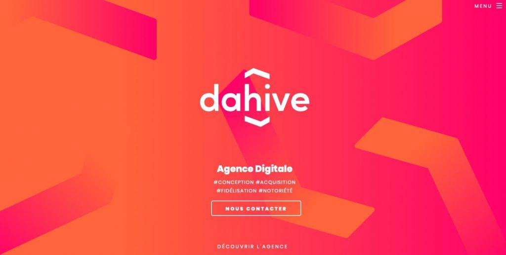 Dahive agence web