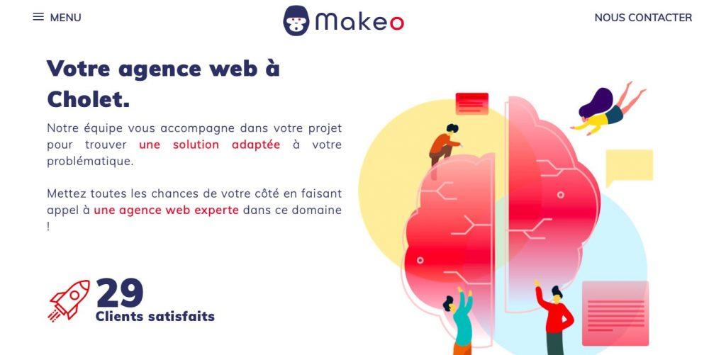 Makeo agence web