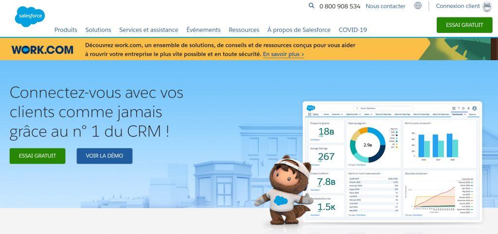 crm salesforce gestion relation client
