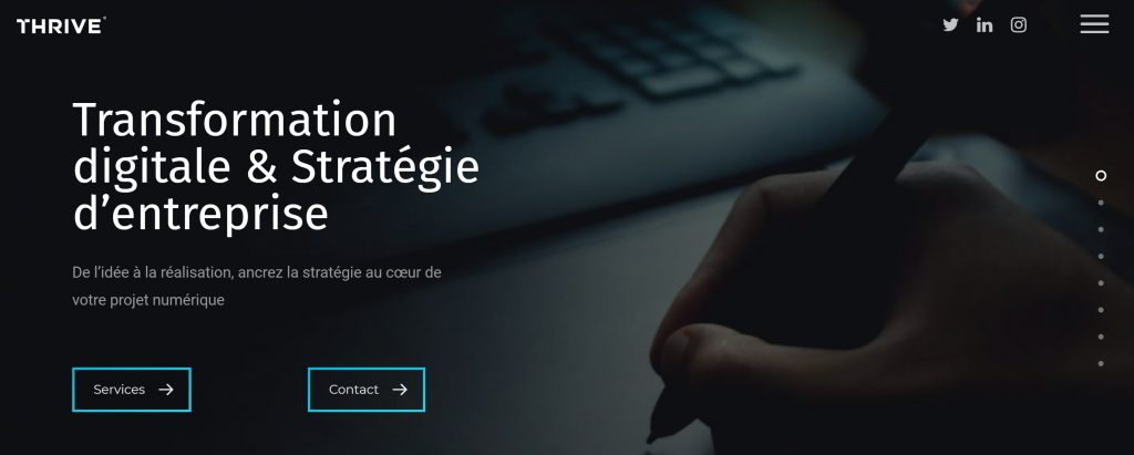 thrive agence web e-commerce