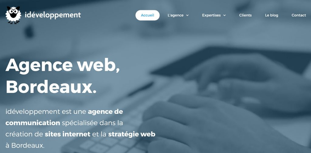 agence web ideveloppement site internet
