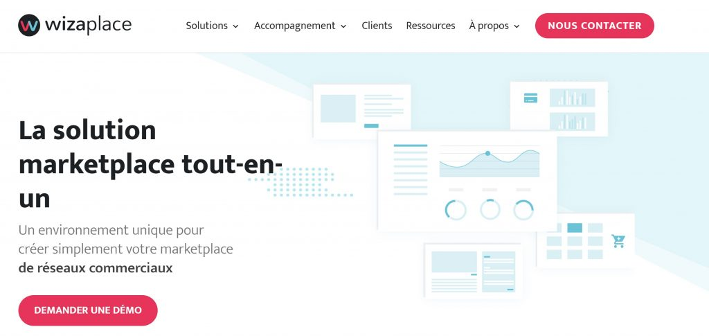 marketplace  agence wizaplace site présentation
