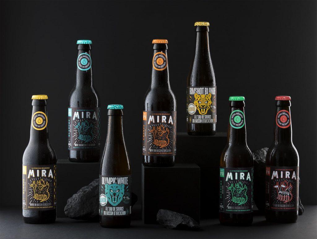 Bières mira présentation des collections