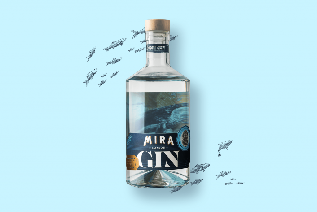 Boisson alcoolisées Mira gin spiritueux bouteille