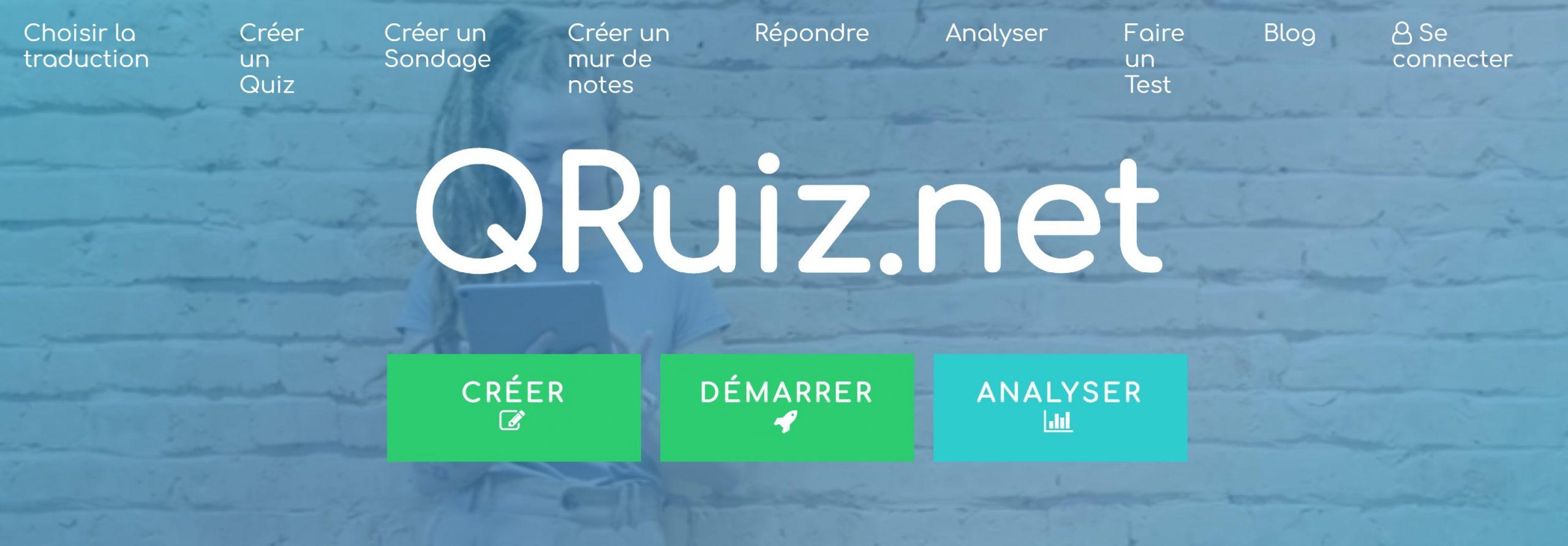 création quiz en ligne qruiz