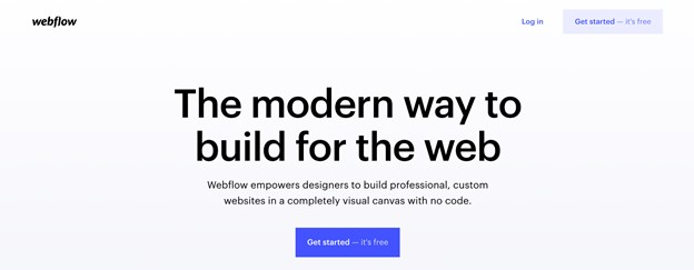 no-code outil webflow