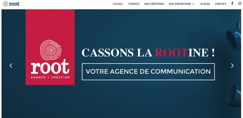 agence web strategy root