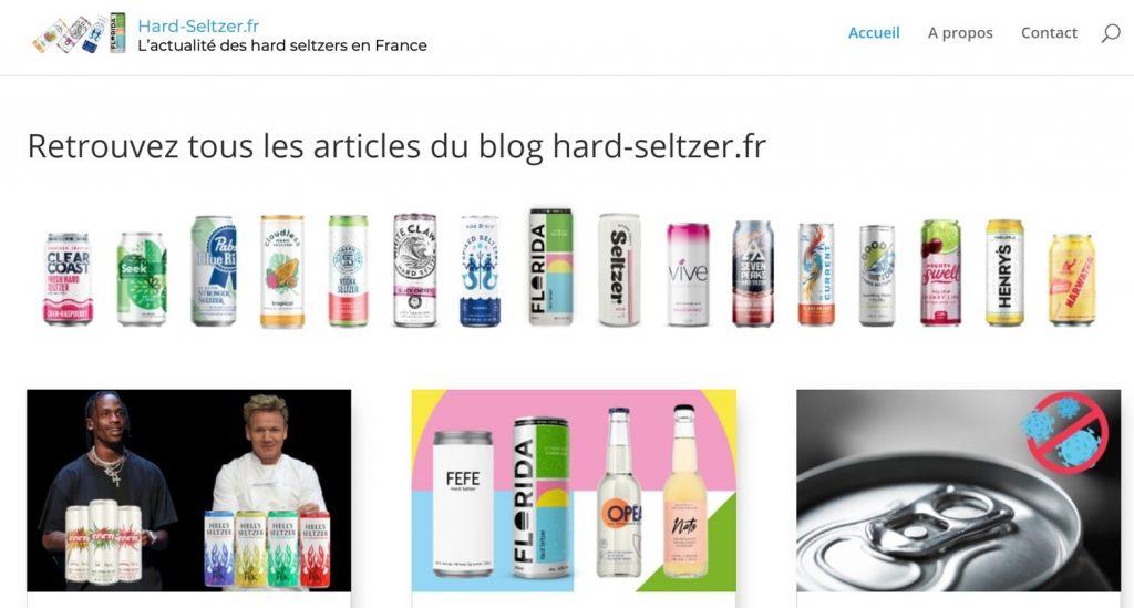 blog actualité boisson pétillante alcoolisée france