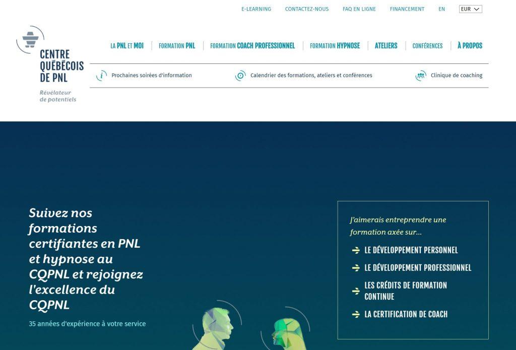 Formation PNL centre québécois