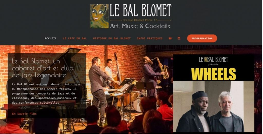 bal blomet bar musical paris