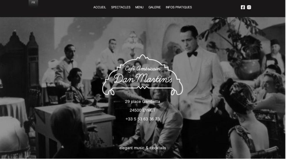 bar jazz dan martin's dordogne